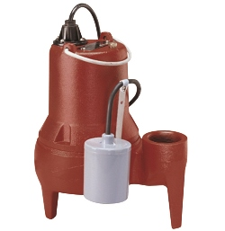 Bomba sumergible marca Liberty Pumps para aguas residuales con alta capacidad de trasiego de sólidos