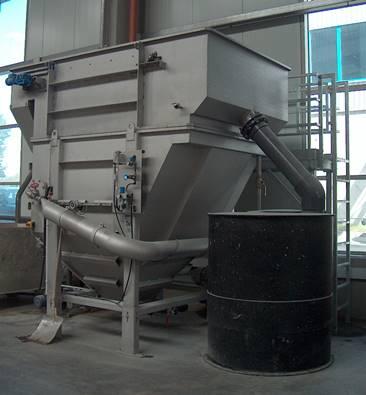 Sistema DAF de flotación por aire disuelto en acero inoxidable para tratamiento de aguas residuales industriales