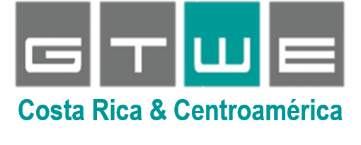 Logo de la empresa GTWE German Technology for Water and Energy para Costa Rica y Centroamérica