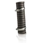 Manguera flexible con gazas para instalación con sopladores de aire