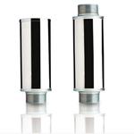 Silenciadores de metal para sopladores de aire